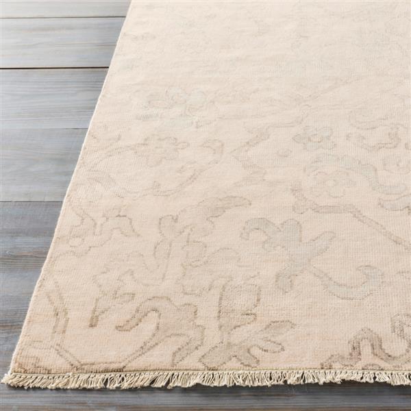 Surya Hillcrest Traditional Area Rug - 2-ft x 3-ft - Rectangular - Camel