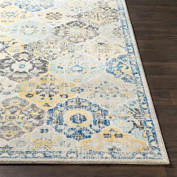 Surya Harput Updated Traditional Area Rug - 9-ft 3-in x 12-ft 6-in - Rectangular - Blue