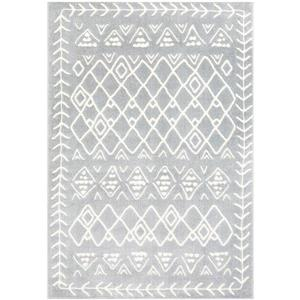 Surya Horizon Bohemian Area Rug - 7-ft 10-in x 10-ft 3-in - Rectangular - Gray