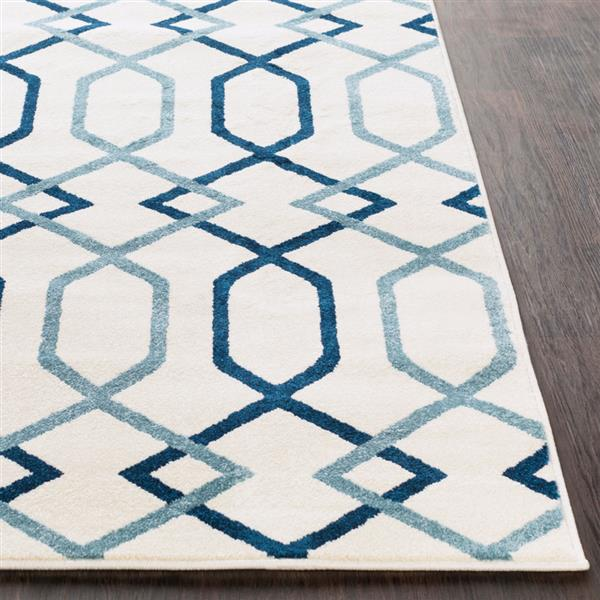 Surya Horizon Transitional Area Rug - 7-ft 10-in - Round - Navy