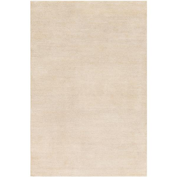 Surya Lamia Solid Area Rug - 6-ft x 9-ft - Rectangular - Butter