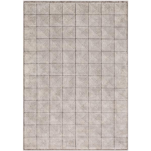 Surya Lagom Modern Area Rug - 9-ft 3-in x 12-ft 3-in - Rectangular - Gray