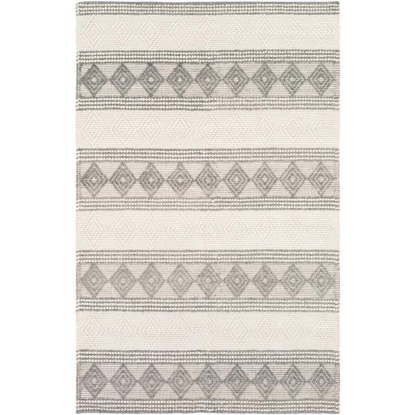 Surya Hygge Bohemian Area Rug - 3-ft x 5-ft - Rectangular - Charcoal
