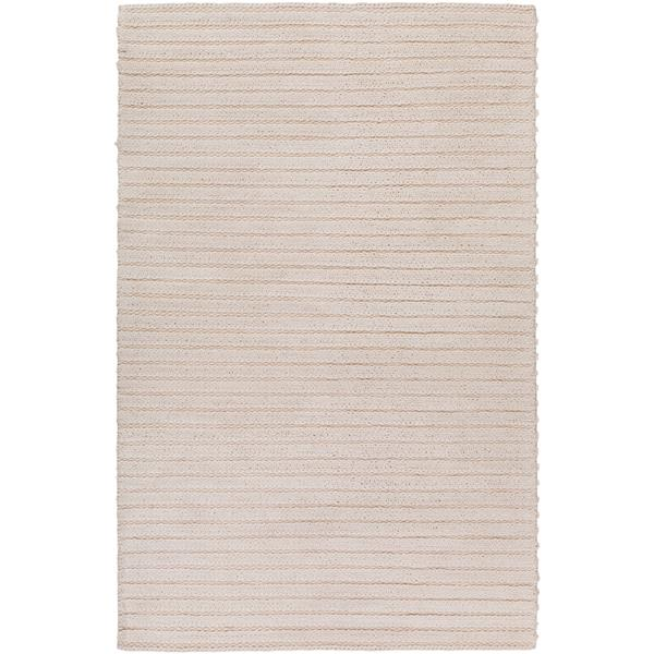 Surya Kindred Texture Area Rug - 9-ft x 13-ft - Rectangular - White