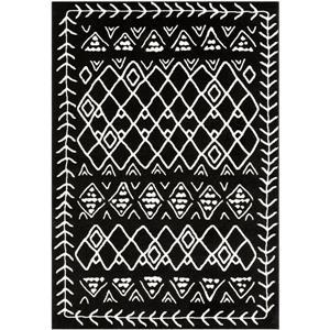 Surya Horizon Bohemian Area Rug - 9-ft 3-in x 12-ft 6-in - Rectangular - Black
