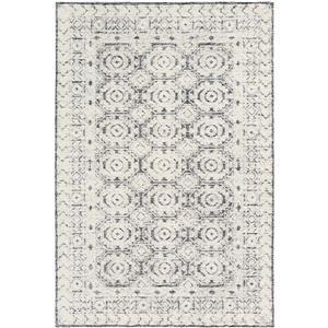 Surya Louvre Transitional Area Rug - 4-ft x 6-ft - Rectangular - Black/White