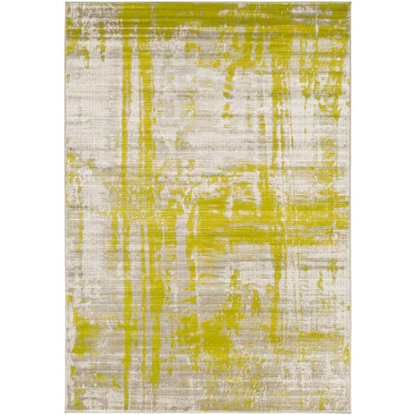 Surya Jax Modern Area Rug - 7-ft 6-in x 10-ft 6-in - Rectangular - Olive