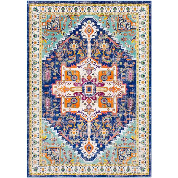 Surya Jax Updated Traditional Area Rug - 7-ft 6-in x 10-ft 6-in - Rectangular - Mint