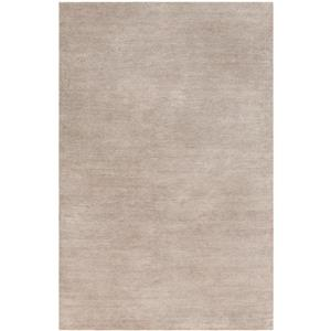 Surya Lamia Solid Area Rug - 6-ft x 9-ft - Rectangular - Taupe
