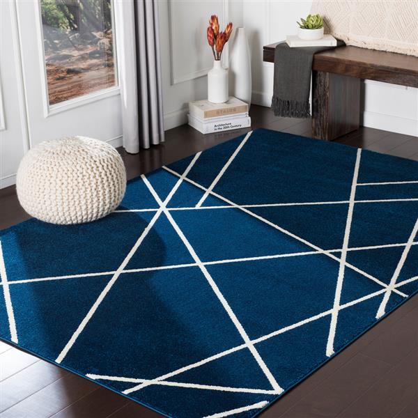 Surya Horizon Modern Area Rug - 7-ft 10-in x 10-ft 3-in - Rectangular - Blue