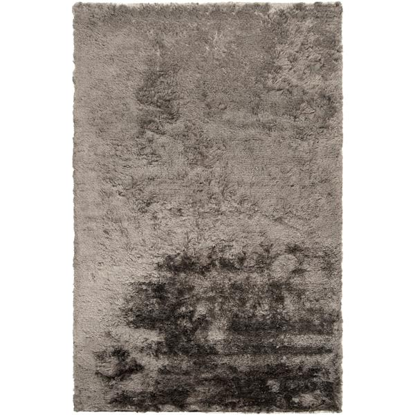 Surya Jasper Shag Area Rug - 8-ft x 11-ft - Rectangular - Gray