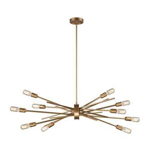 ELK Lighting Xenia Chandelier - 10-Light - Matte Gold