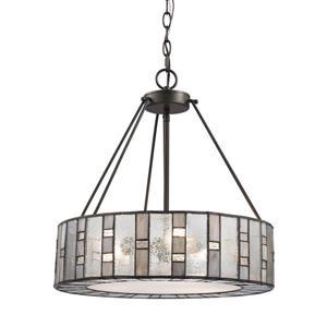 ELK Lighting Ethan Chandelier - 3-Light - Tiffany Bronze