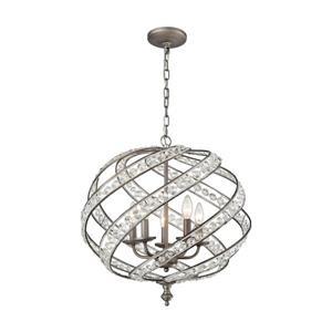 ELK Lighting Renaissance Chandelier - 5-Light - Weathered Zinc