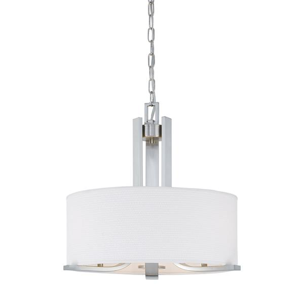 Thomas Lighting Pendenza Chandelier - 3-Light - Brushed Nickel