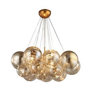 ELK Home Cielo Chandelier - 3-Light - Antique Gold Leaf