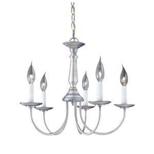 Thomas Lighting Essentials Chandelier - 5-Light - Brushed Nickel