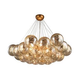ELK Home Cielo Chandelier - 6-Light - Antique Gold Leaf