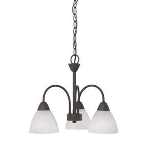 Thomas Lighting Tia Chandelier - 3-Light - Bronze
