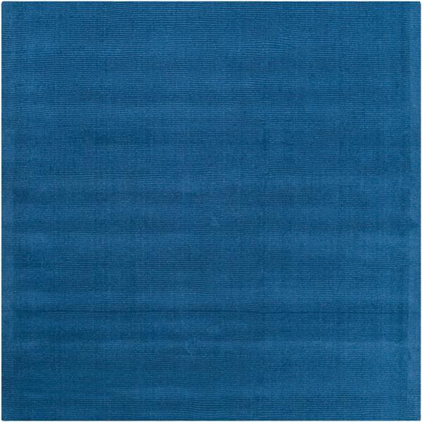Surya Mystique Solid Area Rug - 8-ft - Square - Dark Blue