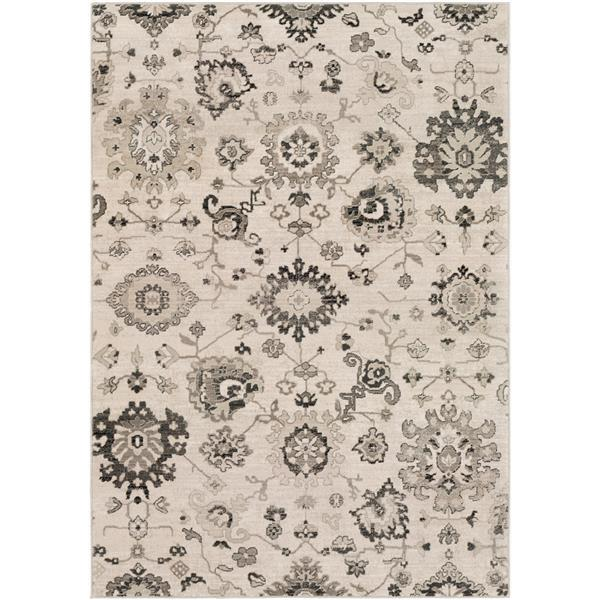 Surya Mesopotamia Updated Traditional Area Rug - 9-ft x 12-ft 3-in - Rectangular - Camel