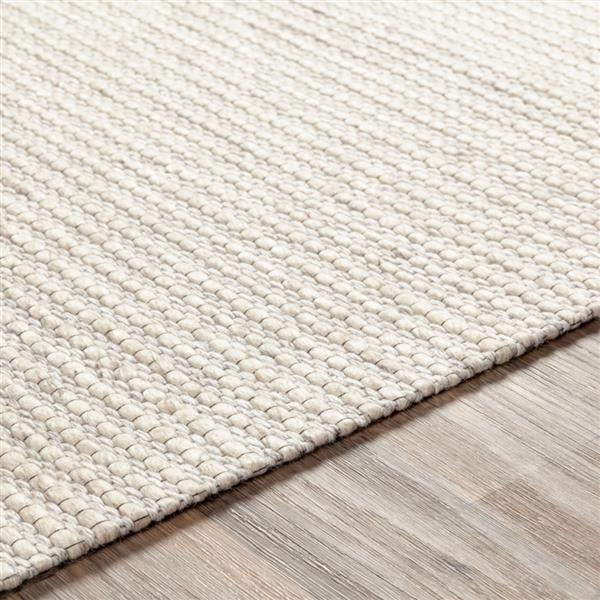 Surya Marlowe Texture Area Rug - 8-ft x 10-ft - Rectangular - Cream