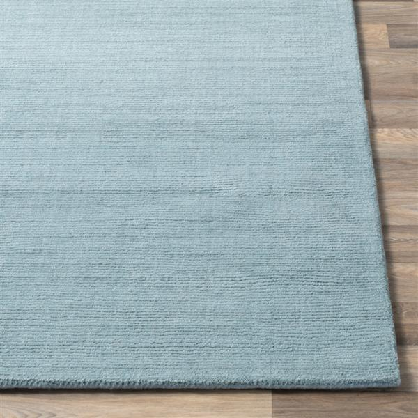 Surya Mystique Solid Area Rug - 8-ft - Square - Sage