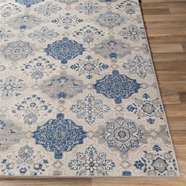 Surya Monaco Transitional Area Rug - 8-ft 10-in x 12-ft 3-in - Rectangular - Gray