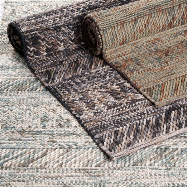 Surya Norway Texture Area Rug - 9-ft x 13-ft - Rectangular - Charcoal