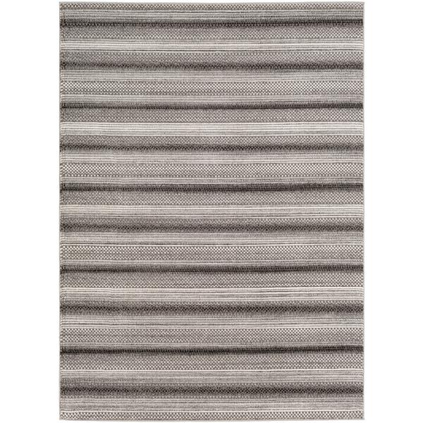 Surya Nepali Bohemian Area Rug - 6-ft 7-in x 9-ft 6-in - Rectangular - Tan