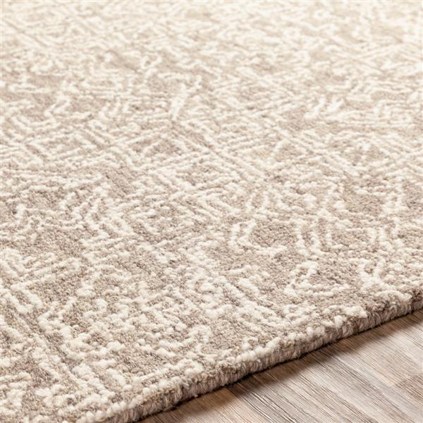 Surya Newcastle Transitional Area Rug - 6-ft x 9-ft - Rectangular - Taupe