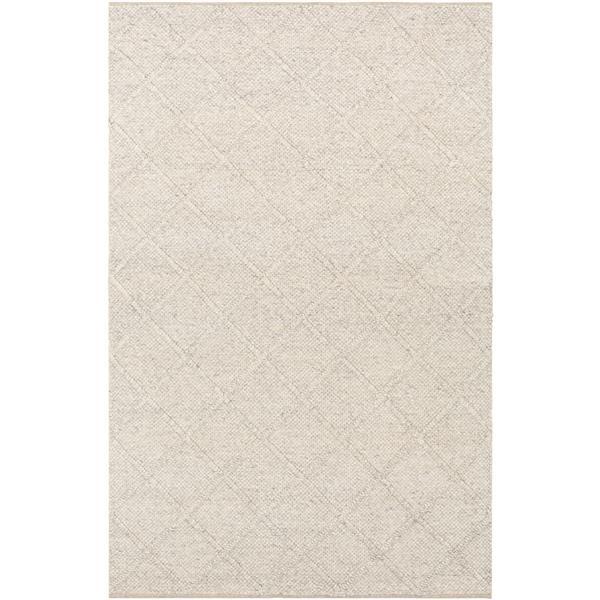Surya Napels Texture Area Rug - 9-ft x 12-ft - Rectangular - Medium Gray