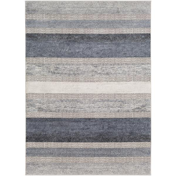 Surya Nepali Bohemian Area Rug - 9-ft 3-in x 12-ft 3-in - Rectangular - Gray