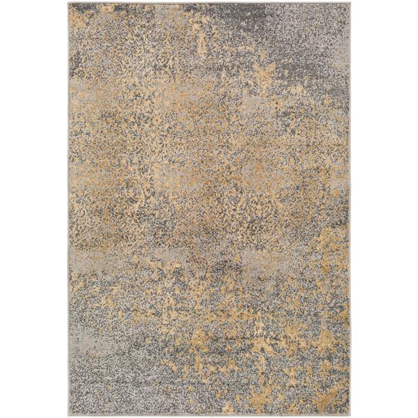 Surya Paramount Transitional Area Rug - 8-ft 10-in x 12-ft 9-in - Rectangular - Gray