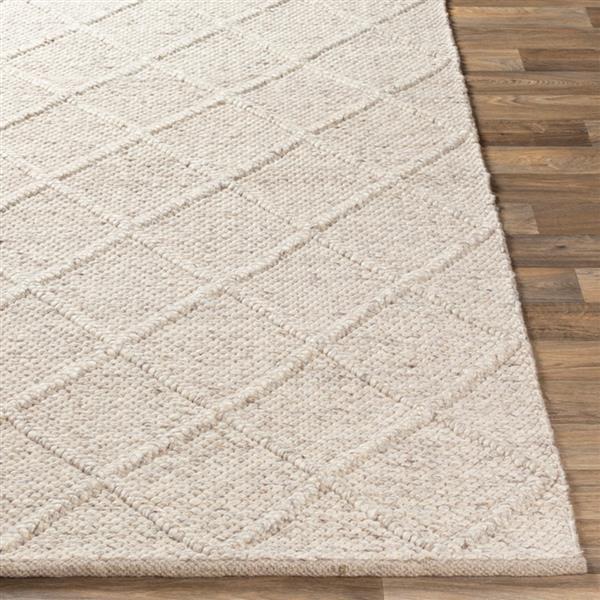 Surya Napels Texture Area Rug - 3-ft x 5-ft - Rectangular - Camel