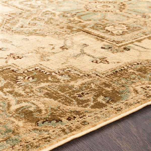 Surya Paramount Updated Traditional Area Rug - 7-ft 9-in x 11-ft 2-in - Rectangular - Beige
