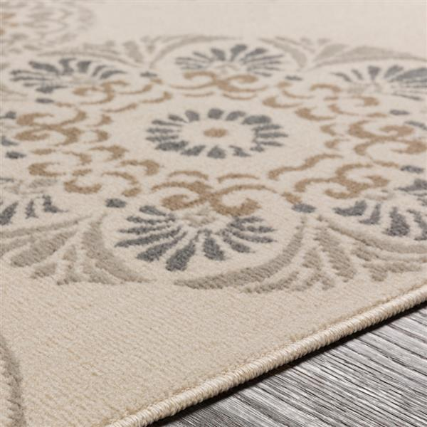 Surya Oslo Transitional Area Rug - 7-ft 10-in x 10-ft 3-in - Rectangular - Cream