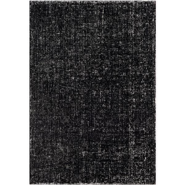 Surya Messina Solide Area Rug - 9-ft x 12-ft - Rectangular - Black
