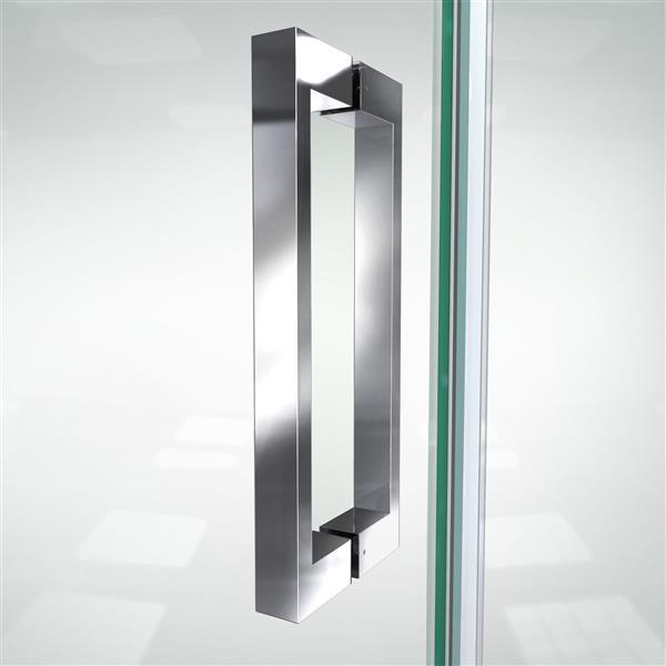 DreamLine Elegance-LS Shower Door - Frameless Design - 50-52-in - Chrome