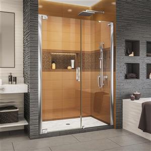 DreamLine Elegance-LS Shower Door - Frameless Design - 57.75-59.75-in - Chrome