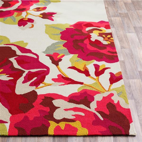 Surya Rain Indoor/Outdoor Area Rug - 8-ft x 10-ft - Rectangular - Red