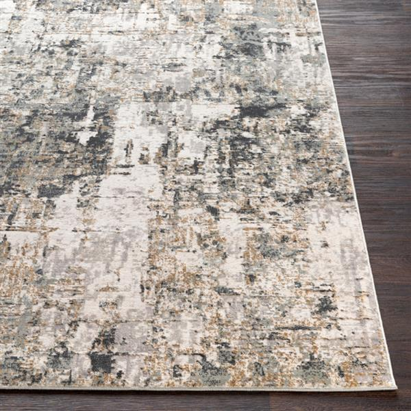 Surya Quatro Updated Traditional Area Rug - 7-ft 10-in x 10-ft 3-in - Rectangular - Charcoal