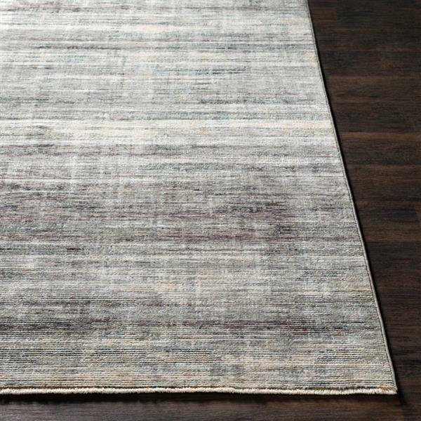 Surya Presidential Modern Area Rug - 3-ft 3-in x 5-ft - Rectangular - Gray