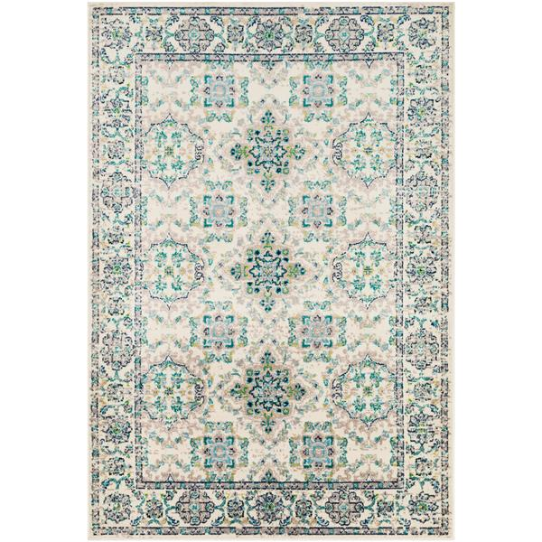 Surya Paramount Transitional Area Rug - 8-ft 10-in x 12-ft 9-in - Rectangular - Teal