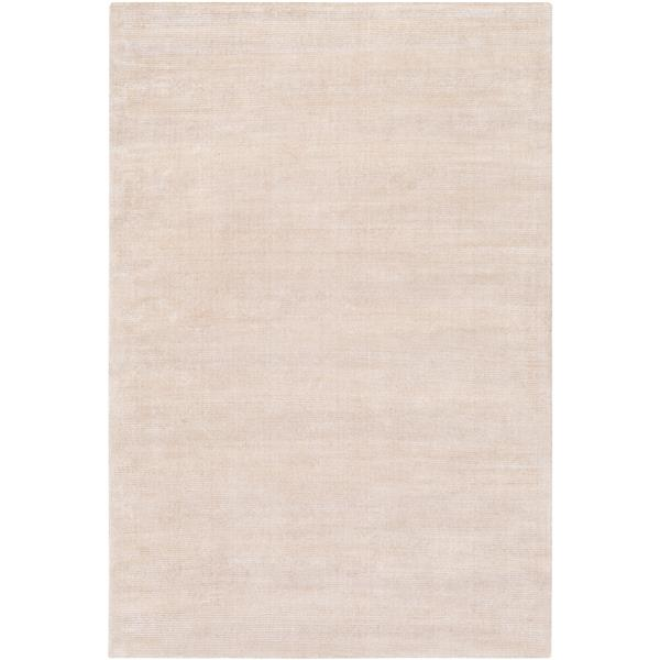 Surya Prague Solid Area Rug - 9-ft x 13-ft - Rectangular - Khaki