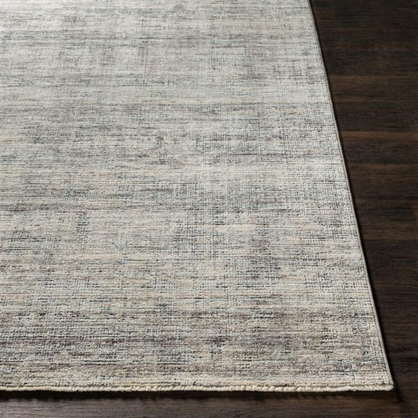 Surya Presidential Modern Area Rug - 7-ft 10-in x 10-ft 3-in - Rectangular - Gray