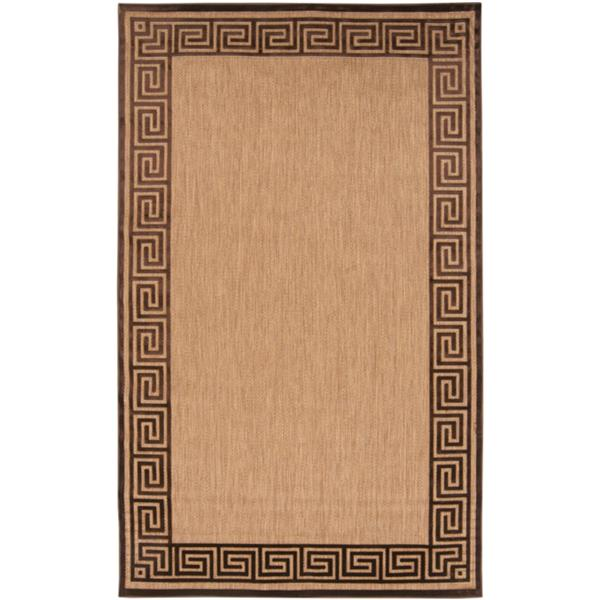 Surya Portera Indoor/Outdoor Area Rug - 7-ft 10-in x 10-ft 8-in - Rectangular - Khaki