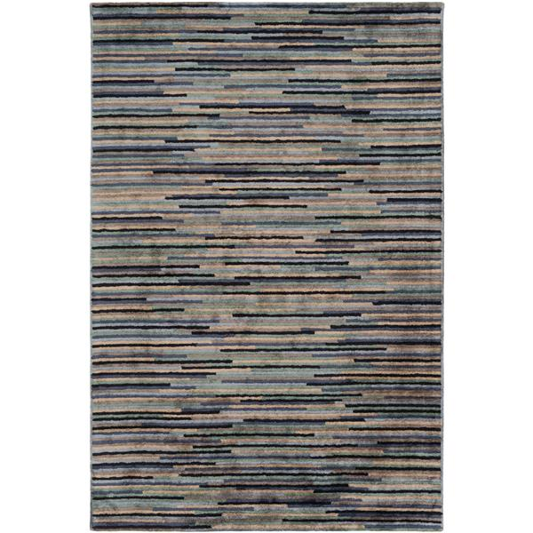Surya Quartz Modern Area Rug - 12-ft x 15-ft - Rectangular - Sage