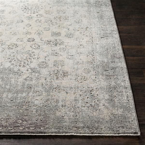 Surya Presidential Updated Traditional Area Rug - 9-ft x 13-ft 1-in - Rectangular - Gray