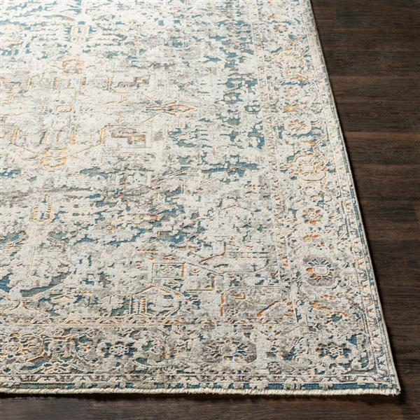 Surya Presidential Updated Traditional Area Rug - 11-ft 6-in x 15-ft 6-in - Rectangular - Gray
